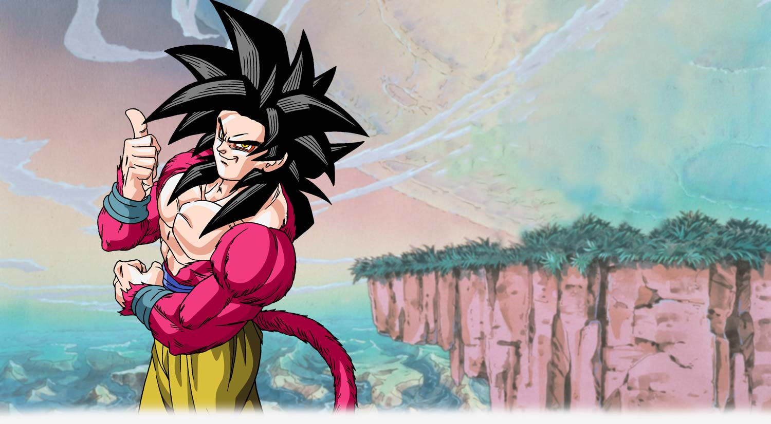 Goku Spotlight image buy the series now